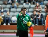 Nuno Dias em Treino de Futsal